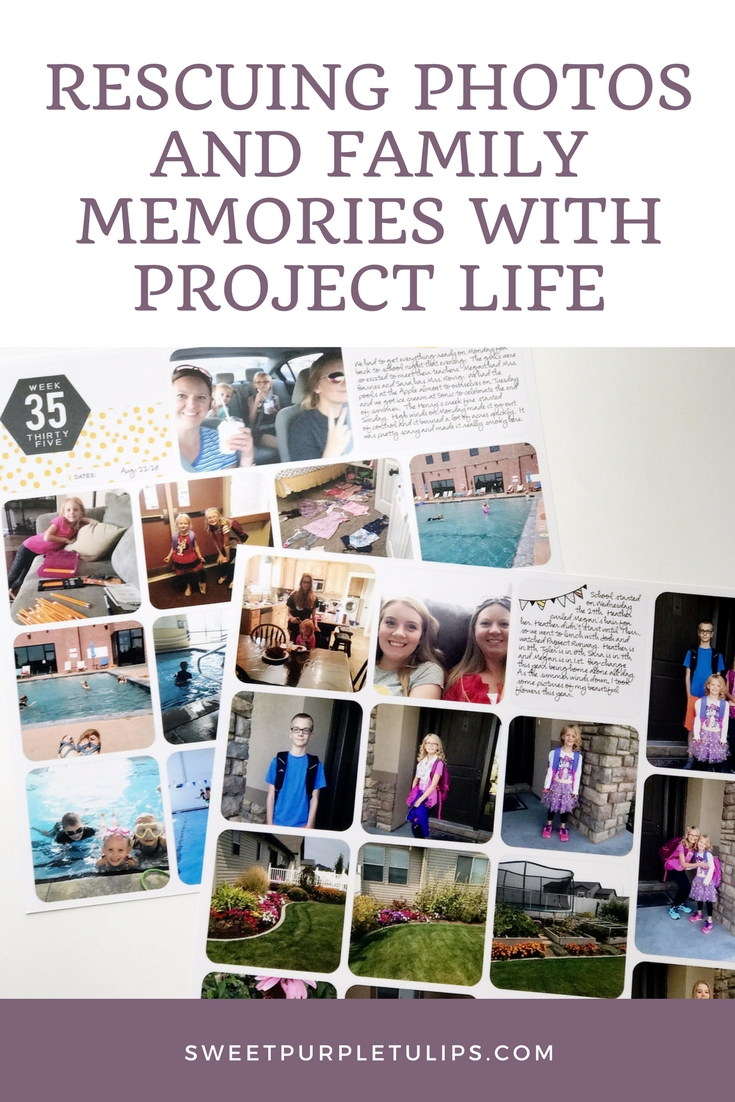 Rescuing photos with Project Life