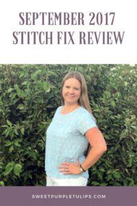 Sept 2017 Stitch Fix Review
