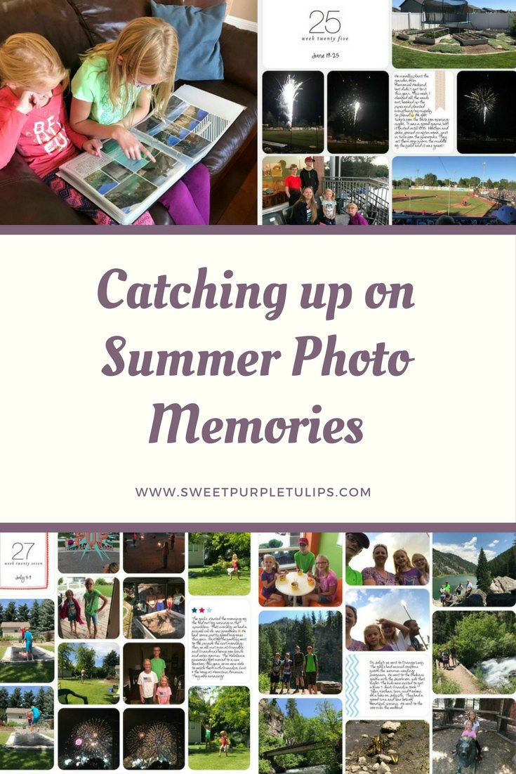 Catching up on Summer Photo Memories