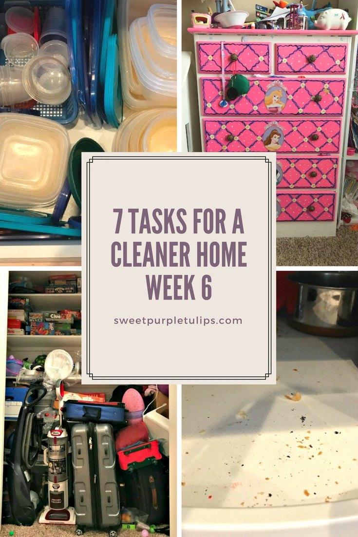 7 Tasks for a Cleaner Home: Week 6