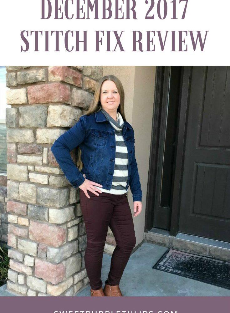 December 2017 Stitch Fix Review