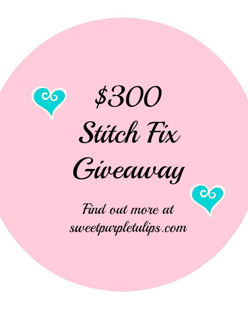 December Stitch Fix Giveaway