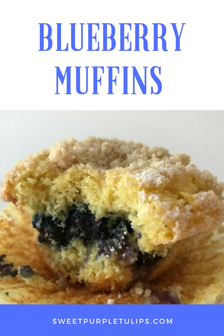 Easy Blueberry Muffins Cake Mix