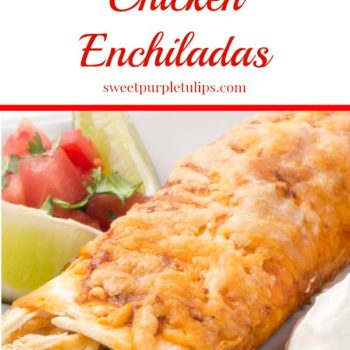 Absolutely Amazing Chicken Enchiladas