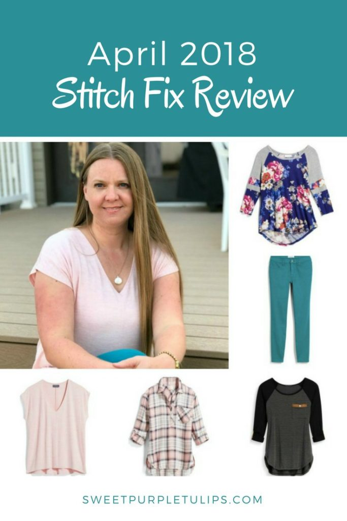 0fbe941fadb501 Looking for Stitch Fix spring tops? My April 2018 Stitch Fix review is full  of