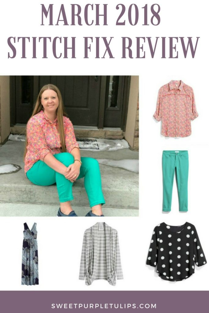 add3f395f084b March 2018 Stitch Fix Review. After a fairly mild winter this year