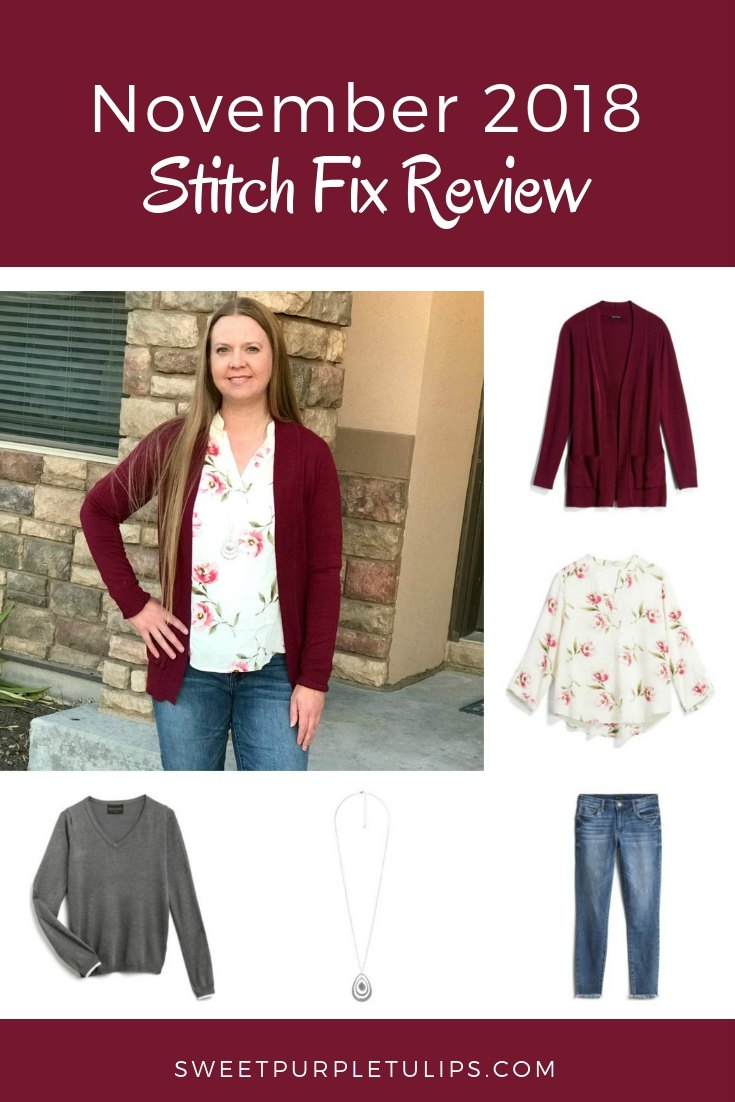 fa57791effc19 November 2018 Stitch Fix Review. November went a little faster than I  expected